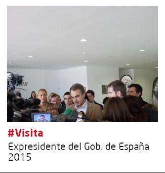 Visita Expresidente Gobierno España
